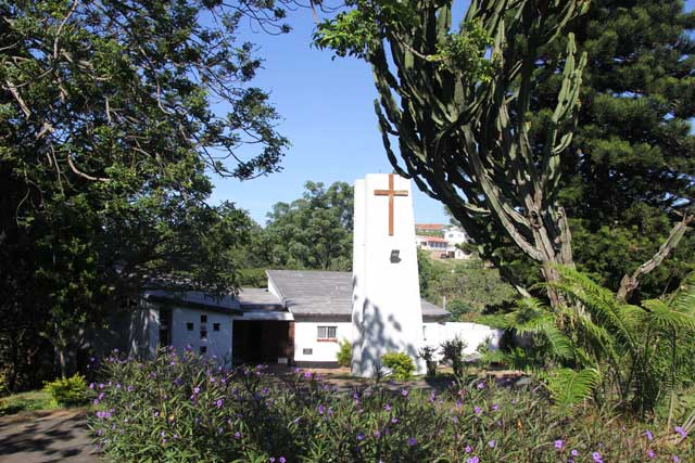 Die Kirche der evangelisch-lutherischen Gemeinde von St. John's in Durban