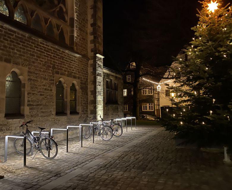 Beleuchteter Fahrradständer