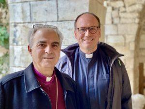 Bischof Azar und Superintenden Lange